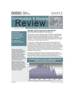 Construction & Housing Review - May 2019