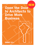 Open the Door to Architects to Drive More Business