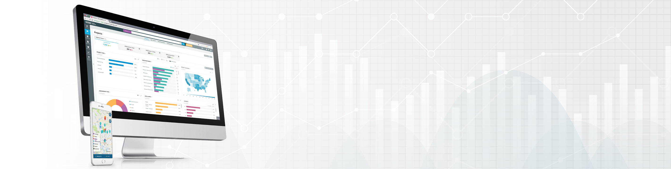 dodge data and analytics construction projects and bidding