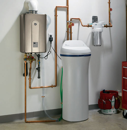 Water Softener Water Softener And Tankless Hot Water Heater