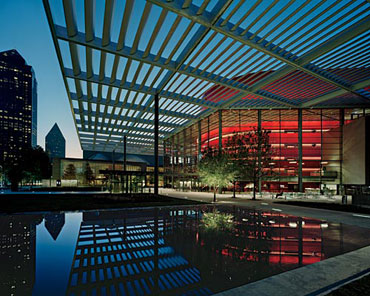 The Winspear Opera House by Foster + Partners.