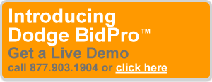 Introducing Dodge BidPro. Get a live demo. Call 877-903-1907.