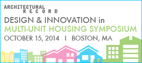 AR Multi-Unit Housing Symposium: Boston