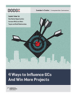 4 Ways to Influence GCs and Win More Projects